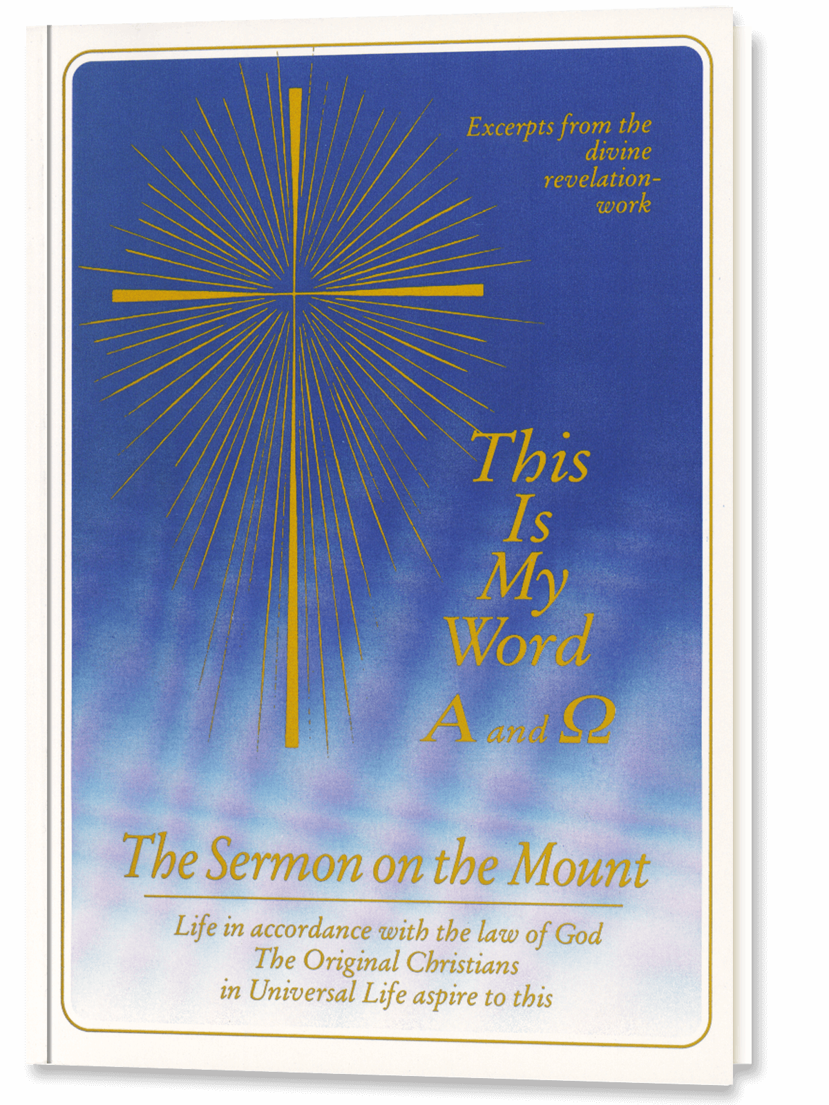 The Sermon on the Mount - Gabriele Publishing - The Word