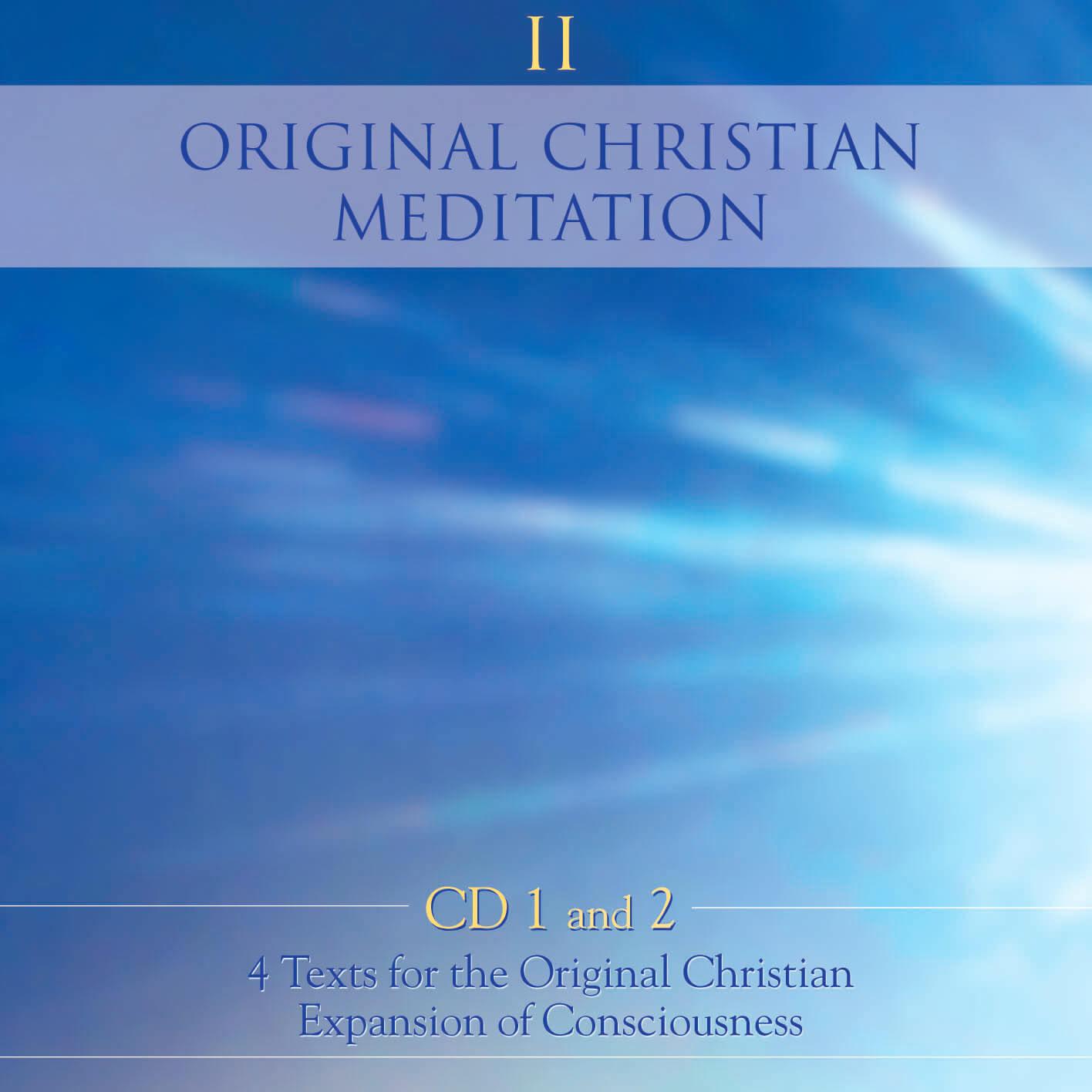 Original Christian Meditation Course II - Box 1