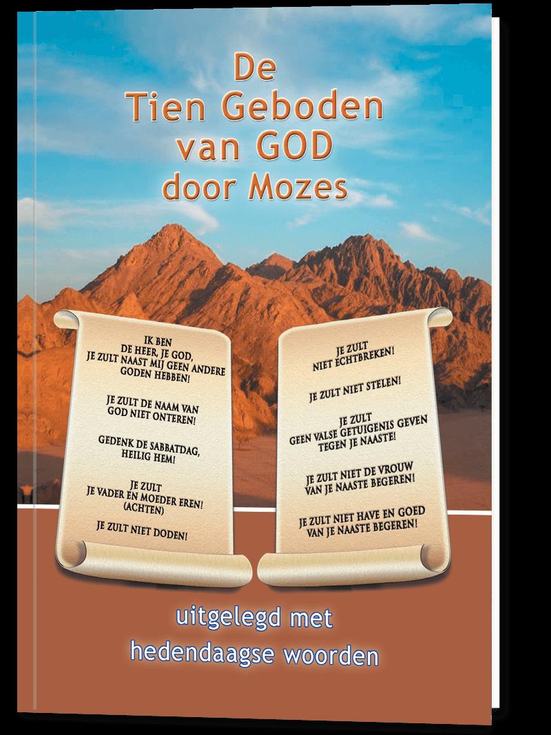 De Tien Geboden van God door Mozes