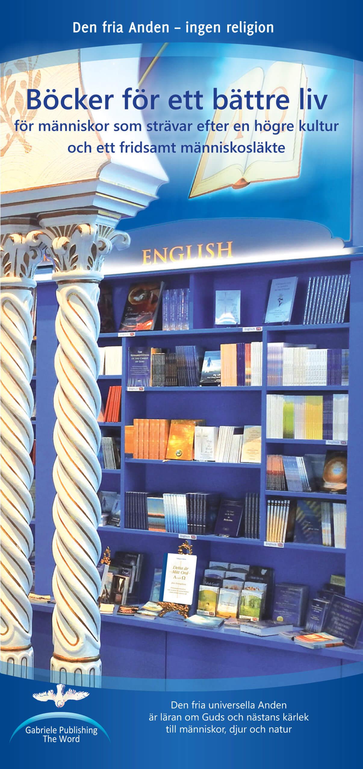 Bokförteckning - Böcker för livet, för en högre kultur och ett fridsamt människosläkte