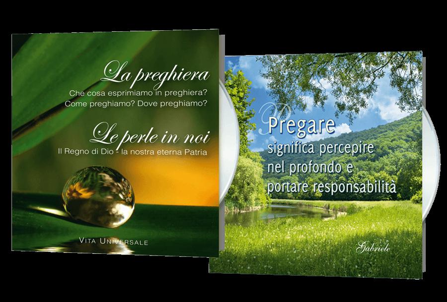Offerta fino al 30 settembre<br /> 2 CD sulla preghiera a soli Euro 14,-