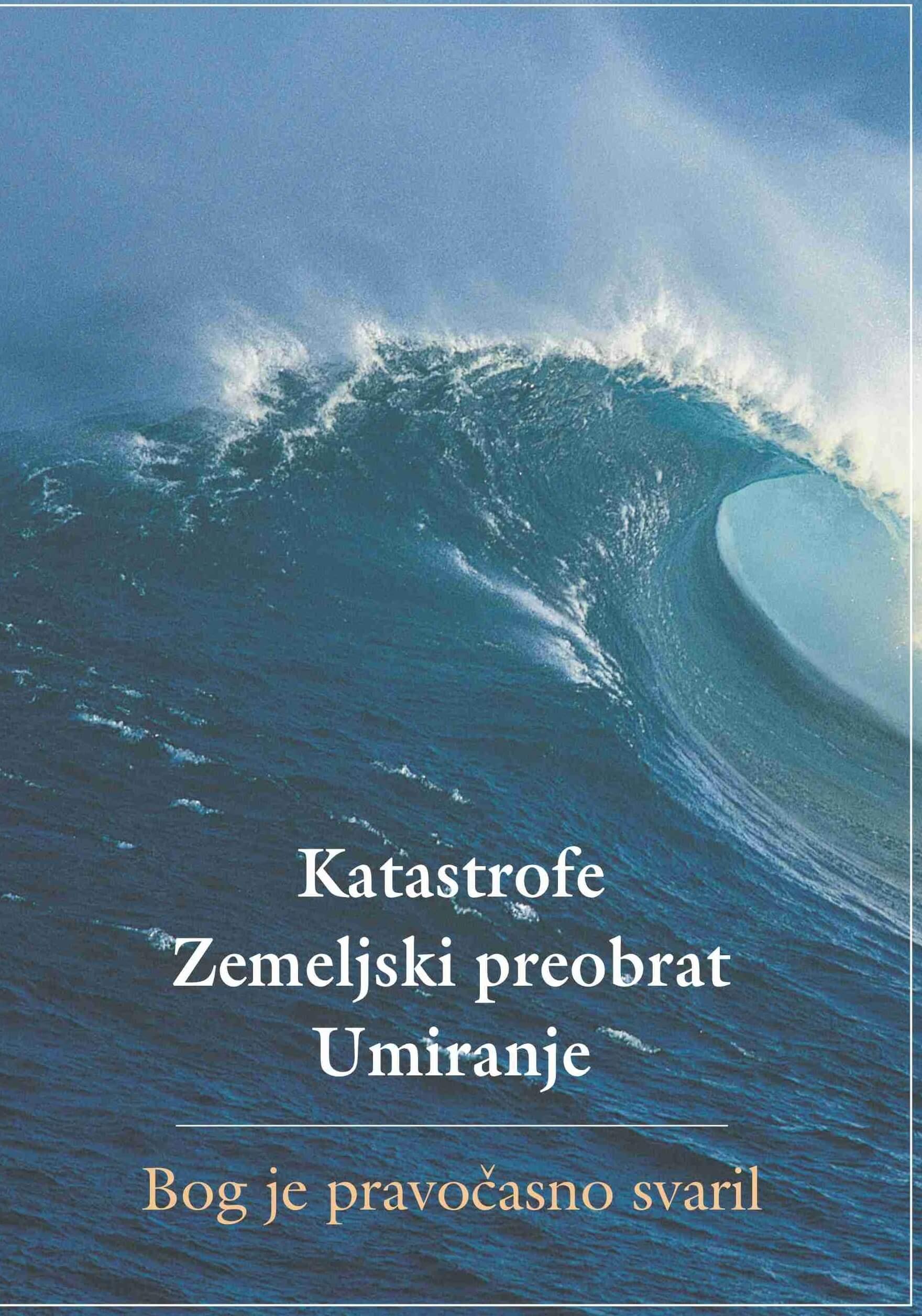 Bog ljudem ne pošilja katastrof,<br /> nasprotno: