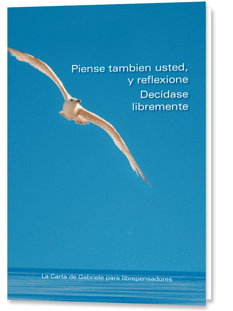 Libro GRATIS: <br /> «Piense también usted, y reflexione»