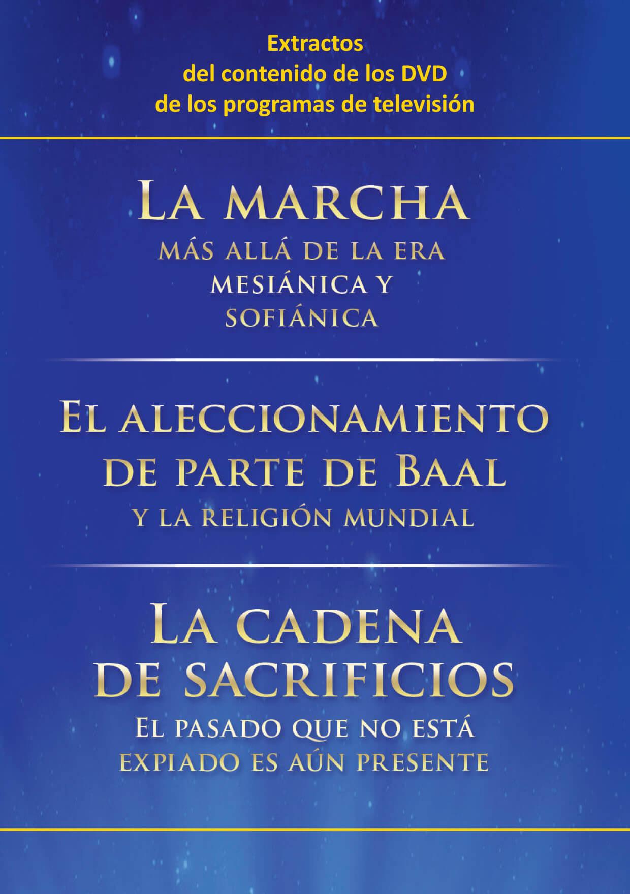 PDF - Extractos de «La marcha» - «El aleccionamiento de parte de Baal» - «La cadena de sacrificios»