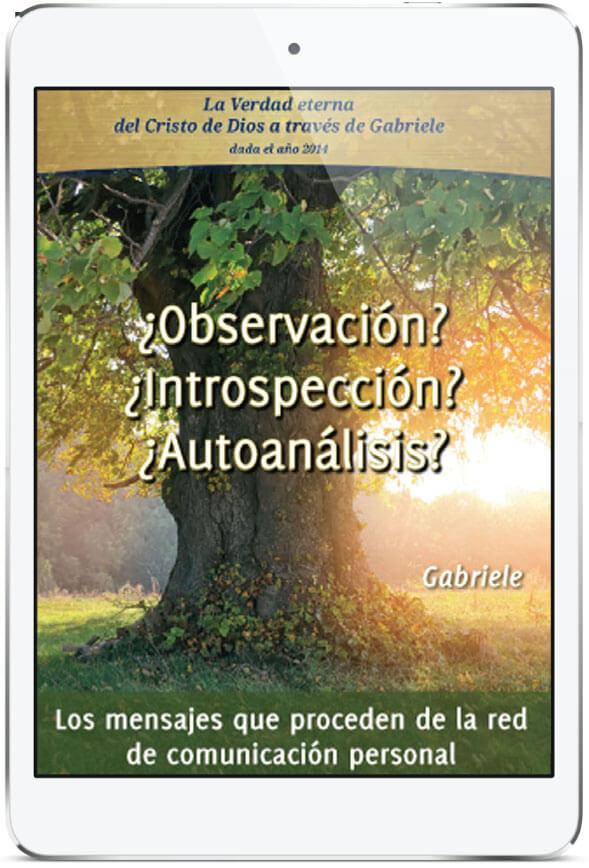 eBook «¿Observación? ¿Introspección? ¿Autoanálisis?»